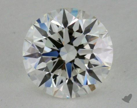 0.81 Carat H-VS1 Excellent Cut Round Diamond