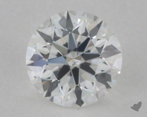 0.34 Carat F-SI1 True Hearts<sup>TM</sup> Ideal Diamond