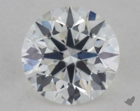 0.33 Carat F-SI1 True Hearts<sup>TM</sup> Ideal Diamond