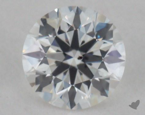 0.43 Carat G-SI1 True Hearts<sup>TM</sup> Ideal Diamond