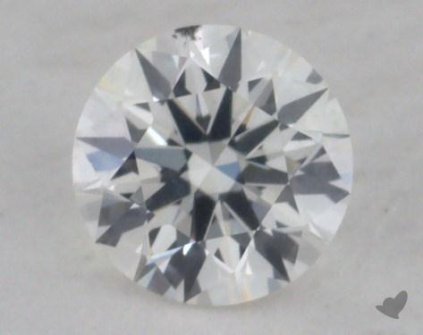 0.32 Carat G-SI1 True Hearts<sup>TM</sup> Ideal Diamond
