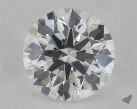 0.33 Carat G-SI1 True Hearts<sup>TM</sup> Ideal Diamond 