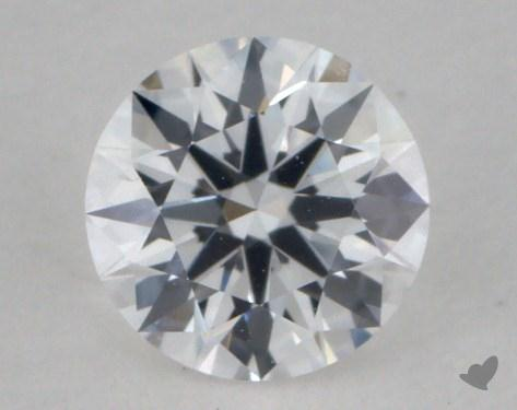 0.34 Carat D-VVS1 True Hearts<sup>TM</sup> Ideal Diamond