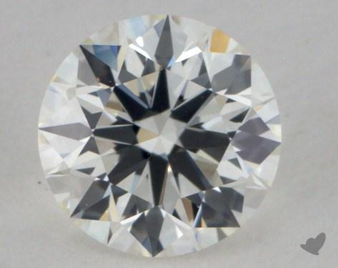 0.61 Carat I-VVS2 True Hearts<sup>TM</sup> Ideal Diamond