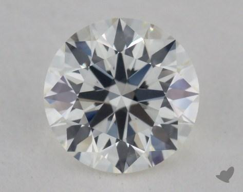 0.57 Carat I-VVS1 True Hearts<sup>TM</sup> Ideal Diamond 