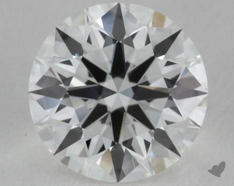 1.23 Carat G-VVS1 True Hearts<sup>TM</sup> Ideal Diamond