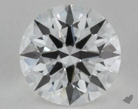 1.05 Carat F-IF Ideal Cut Round Diamond