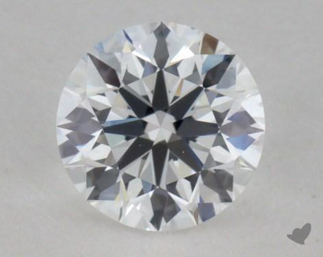 0.57 Carat D-VS2 Ideal Cut Round Diamond