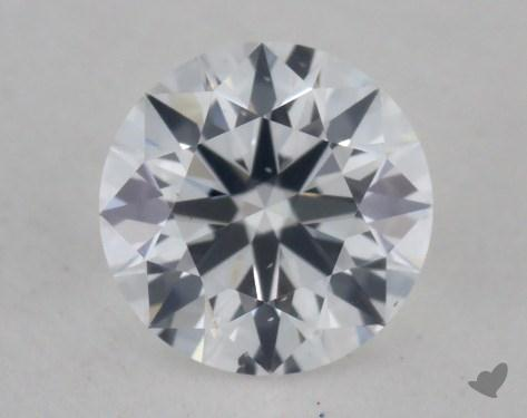 0.31 Carat D-SI1 Ideal Cut Round Diamond