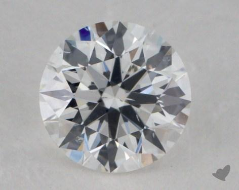 0.52 Carat E-SI2 Ideal Cut Round Diamond
