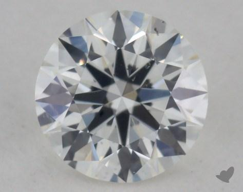 0.34 Carat H-SI1 True Hearts<sup>TM</sup> Ideal Diamond