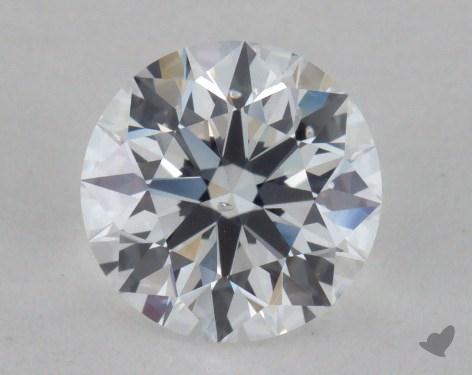 1.02 Carat D-SI1 True Hearts<sup>TM</sup> Ideal Diamond