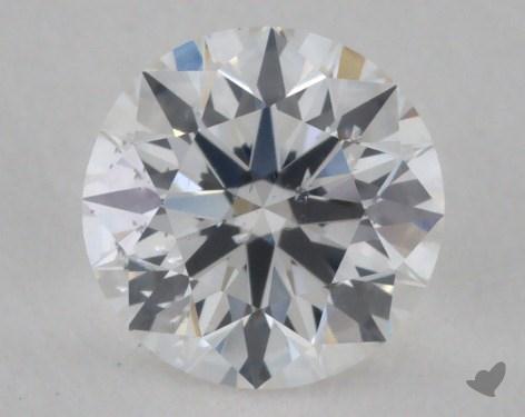 0.71 Carat E-SI2 True Hearts<sup>TM</sup> Ideal Diamond