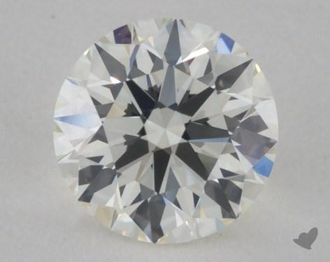0.77 Carat I-IF Ideal Cut Round Diamond 