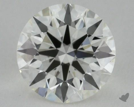 1.10 Carat J-VS1 Ideal Cut Round Diamond