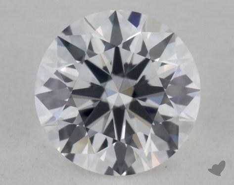 0.56 Carat F-VVS1 Ideal Cut Round Diamond