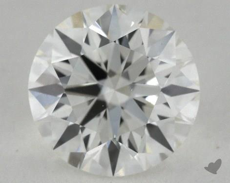 1.21 Carat H-SI1 True Hearts<sup>TM</sup> Ideal Diamond