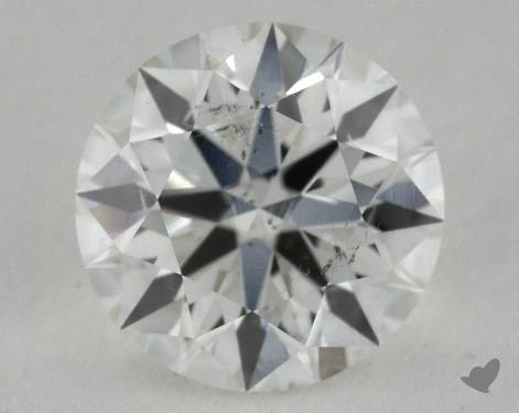 1.05 Carat H-SI2 Ideal Cut Round Diamond