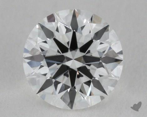 0.54 Carat F-VS2 Ideal Cut Round Diamond