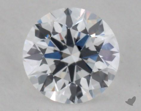 0.32 Carat D-SI1 Ideal Cut Round Diamond 