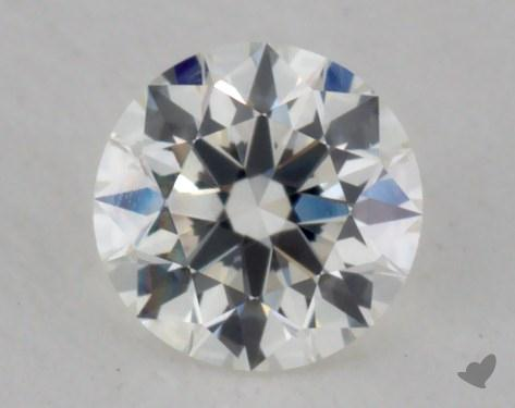 0.32 Carat I-VVS1 Ideal Cut Round Diamond