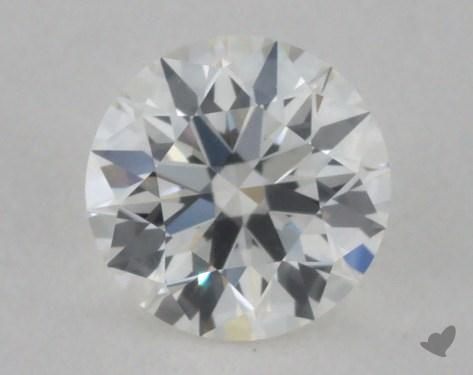 0.32 Carat H-VVS1 Ideal Cut Round Diamond