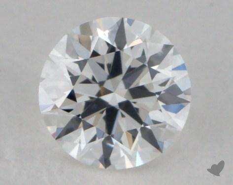 0.33 Carat F-IF Ideal Cut Round Diamond