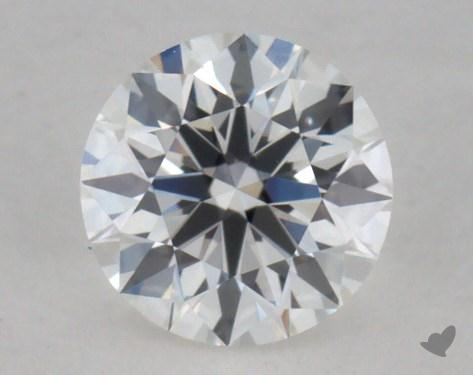 0.34 Carat F-VVS2  True Hearts<sup>TM</sup> Ideal  Diamond