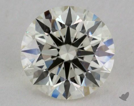 1.02 Carat K-VS2 Excellent Cut Round Diamond