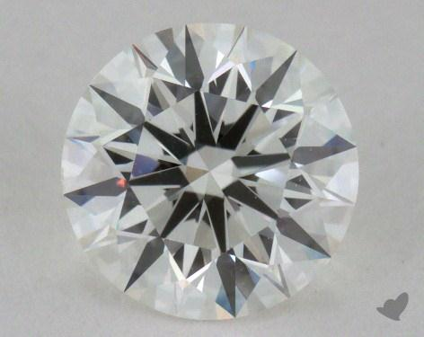 1.26 Carat H-VVS1 Excellent Cut Round Diamond