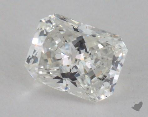 0.72 Carat H-VS2 Radiant Cut Diamond