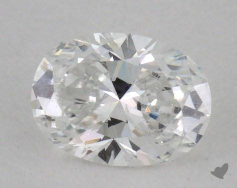 0.32 Carat D-SI2 Oval Cut Diamond