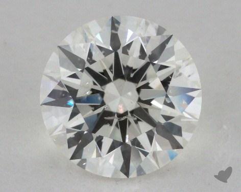 3.07 Carat I-SI2 Excellent Cut Round Diamond
