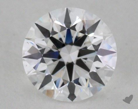 1.08 Carat D-VS2 Excellent Cut Round Diamond 