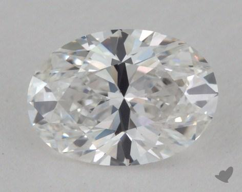 0.92 Carat D-VVS2 Oval Cut Diamond