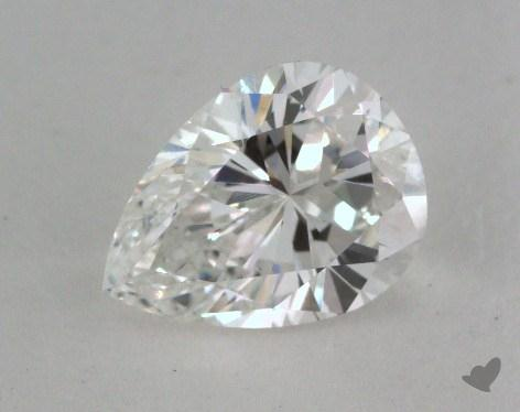 0.93 Carat E-SI2 Pear Shaped  Diamond