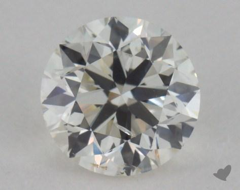0.91 Carat I-SI2 Round Diamond 