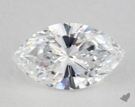 1.02 Carat D-VVS1 Marquise Cut Diamond