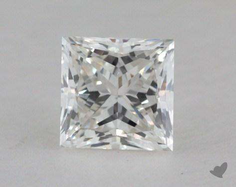 1.05 Carat G-SI1 Good Cut Princess Diamond