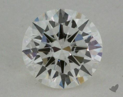 0.46 Carat E-SI2 Very Good Cut Round Diamond