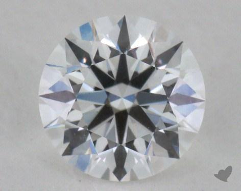 0.54 Carat F-VVS2 Excellent Cut Round Diamond