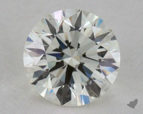 1.28 Carat J-VVS2 Very Good Cut Round Diamond