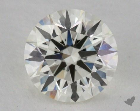 1.24 Carat J-VVS1 Excellent Cut Round Diamond