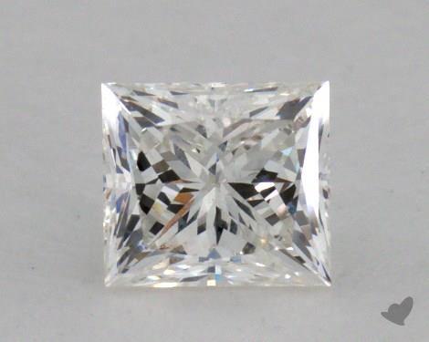 0.39 Carat F-SI1 Good Cut Princess Diamond