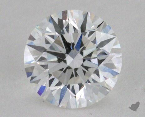 0.74 Carat E-SI1 Very Good Cut Round Diamond