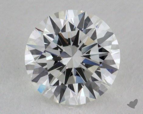 0.70 Carat F-VS1 Excellent Cut Round Diamond
