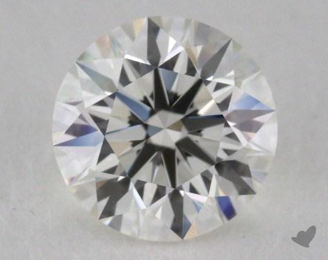 1.04 Carat I-IF Excellent Cut Round Diamond
