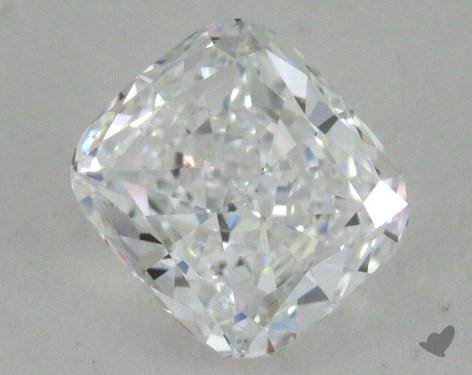 0.91 Carat D-VVS2 Cushion Cut  Diamond