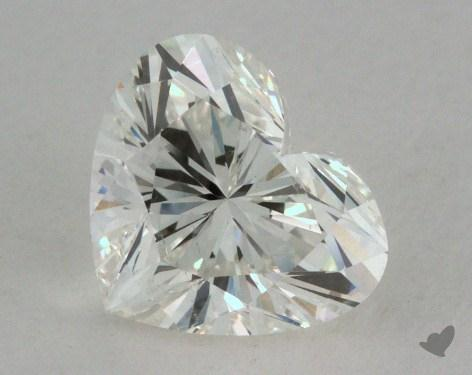 0.94 Carat H-SI1 Heart Cut Diamond