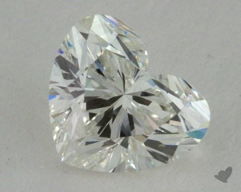 1.01 Carat I-SI2 Heart Shape Diamond
